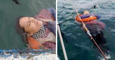 Missing Woman Found Floating Alive At Sea 2 Years After She Vanished