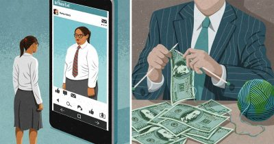 Artist's 20 Illustrations That Point Out What's Wrong With Today's World