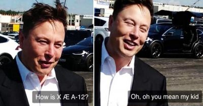 Hilarious Moment! Elon Musk Forgets His Son X Æ A-12's Name During Interview