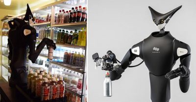 Japanese Stores Now Uses 7-Foot Tall Robots To Stock Up Empty Grocery Shelves