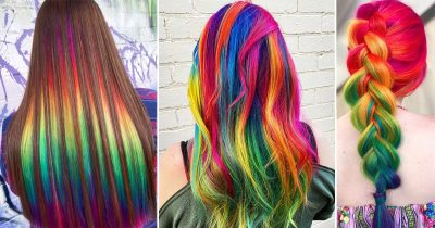 Australian Hairstylist Loves Giving People 'Unicorns Manes' In Rainbow Colors