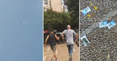 Free Cannabis Rains Down From Drones On The Streets Of Tel Aviv