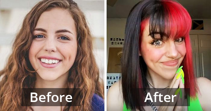 People Are Following 'Glow-Up' Trend From Conservative To Finding Themselves
