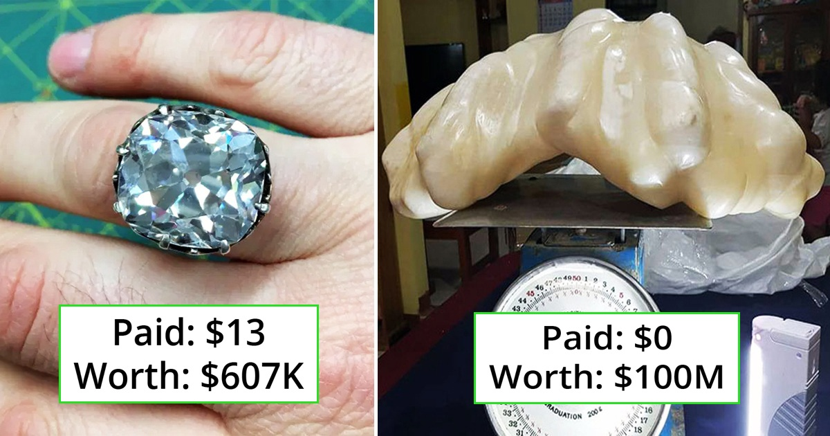 19 People Came Across Random Things That Turned Out To Be Worth A Fortune