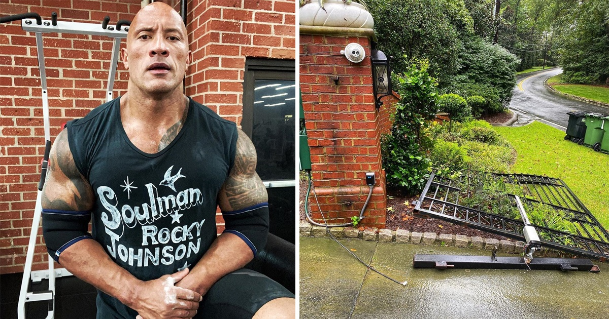 Dwayne Johnson Ripped Off High-security Door To Get To Work On Time