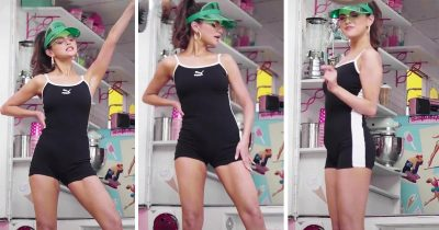 Selena Gomez Flaunts Her Incredible Slimmer Figure In A Bodysuit