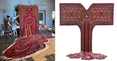 30 Psychedelic Carpets By Azerbaijani Designer That Create New Visual Boundaries