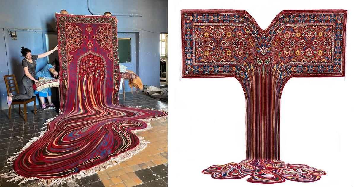 30 Psychedelic Carpets By Azerbaijani Designer That Create New Visual Boundaries
