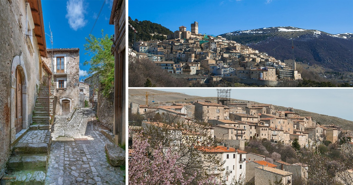 Italian Village is Offering People Up To $50K To Live There
