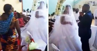 Woman Storms Into Wedding As She Claims The Groom Is Her Husband