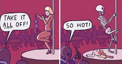 30 Hilarious Comics With Unexpected Dark Twists