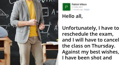 Professor Emailed Students Test Is Postponed For The Most 2020 Reasons Ever