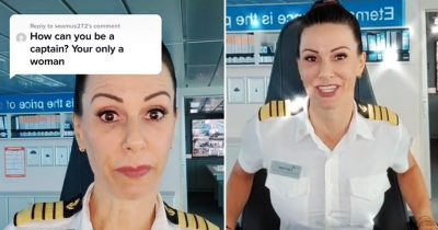 Troll Asks Captain 'How Can You Be A Captain? Your Only A Woman,' She Hits Back With Epic Reply