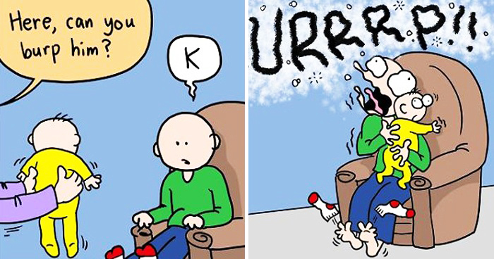 Mom's 30 Funny Comics Show What Parenting Really Looks Like