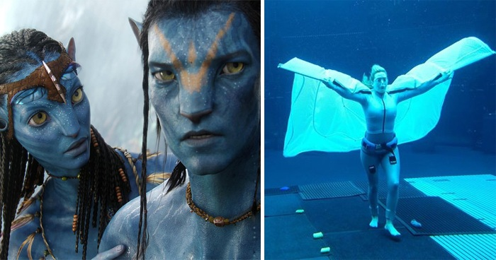Astonishing Behind-The-Scenes Pics From Set Of Avatar 2 Filming Underwater