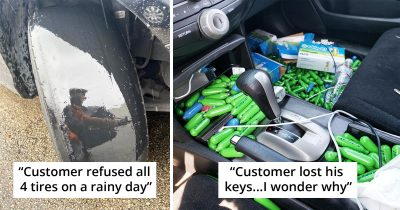 30 Times Car Mechanics Had To Take Pics To Prove What They Were Dealing With