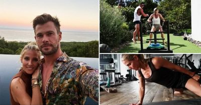 Chris Hemsworth Shares Wife Elsa Pataky's Beast Mode With Intense Workout