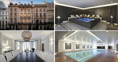 London's Most Expensive Mansion Goes On Sale For A Staggering £54.5 Million