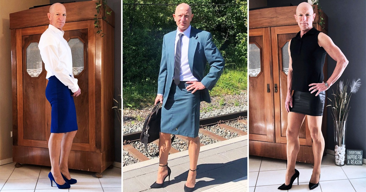 Man Wears Skirts And Heels To Prove These Are Not Just For Women [25 Pics]