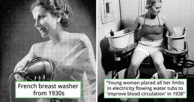30 Strange Things Women Did In The Past In The Name Of 'Beauty'