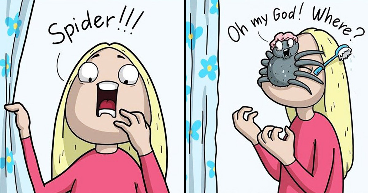 Artist Draws Annoying Girl Issues In 30 Hilarious Comics