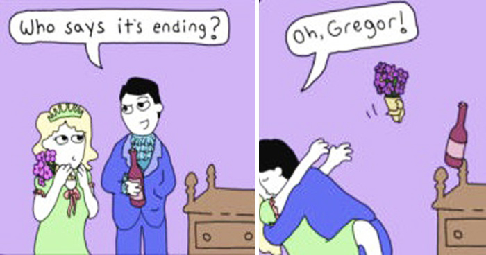 Artist's 21 Hilarious Twisted Comics Where Things Rarely Go As Planned