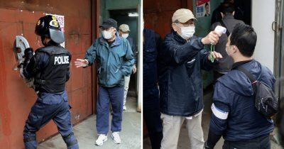 Japanese Cops Raid Ultra-Leftist Headquarters, Got Their Temperature Checked Instead