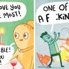 30 Hilarious Comics With Sudden Dark Endings