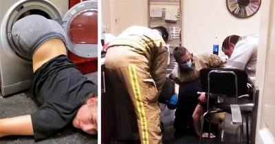 Girl Rescued By Firefighters After She Got Stuck Inside University Tumble Dryer