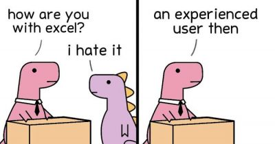 25 Hilarious Dinosaur Comics About Mental Health