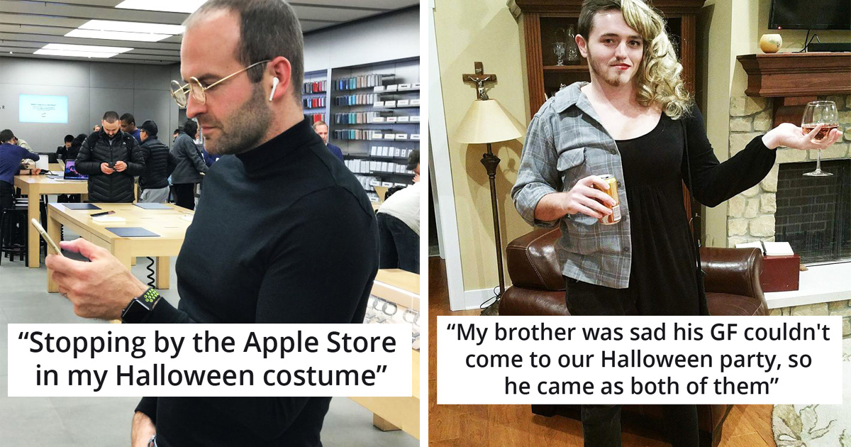 30 Times People Wore Hilariously Creative Halloween Costumes Ever