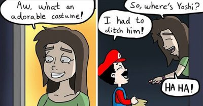 30 Witty Comics With Dark Twists By Kasper