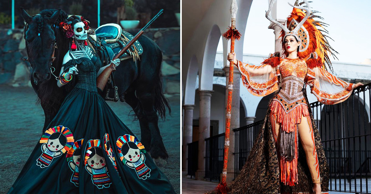 30 Stunning 2020 Miss Mexico Contestants In Their Traditional Outfits