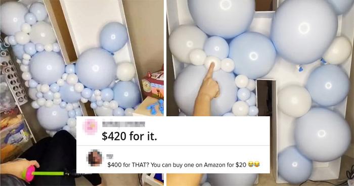 Woman On TikTok Slammed For Her 'Overpriced' Balloons