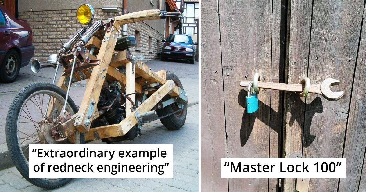 30 Mad Engineering Ideas That Are Insanely Ingenious