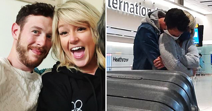 Man Flew 10000 Miles To Live With British Woman After They Fell In Love Online