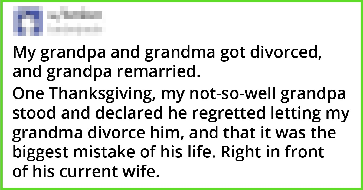 16 People Shared Their Thanksgiving Stories