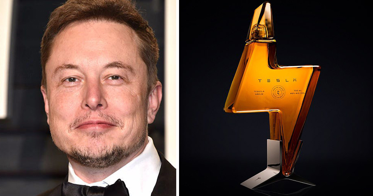 Elon Musk Launches $250 Per Bottle Of Tesla Tequila, And It Sold Out Within Hours