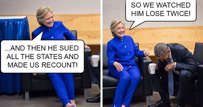 30 Hilarious Reactions By People After Trump Loses The Election