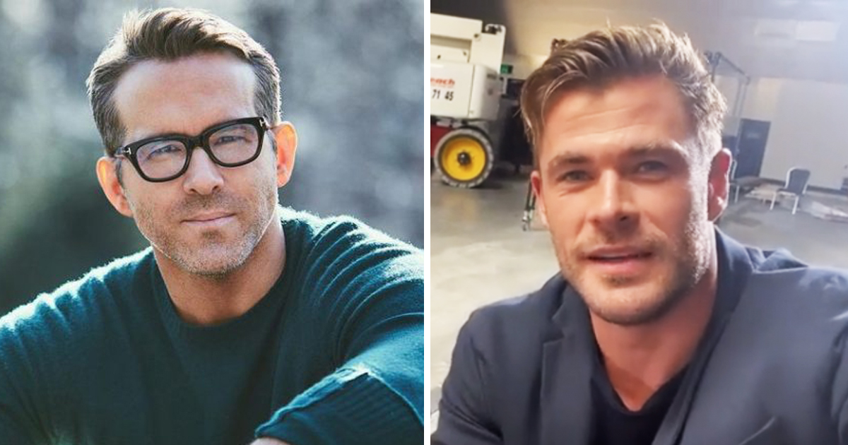 Chris Hemsworth Hits Back At Ryan Reynolds' Mom After She Gets Involved In Their Feud