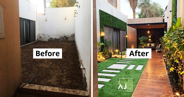 23 Living Spaces Before & After Their Incredible Renovation