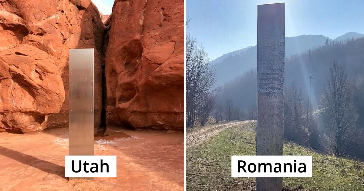 Mysterious Monolith Spotted In Romania After Similar Structure Vanished From Utah Desert