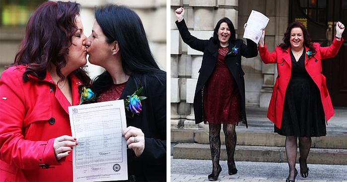 First Northern Irish Same-Sex Couple Turned Civil Partnership Into A Marriage