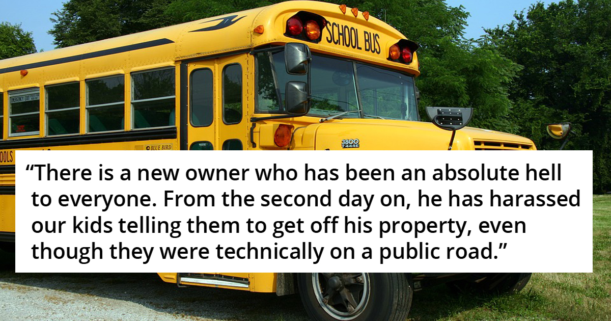 Neighbor Installed Strobe Light To Prevent Epileptic Kids From Using School Bus Stop