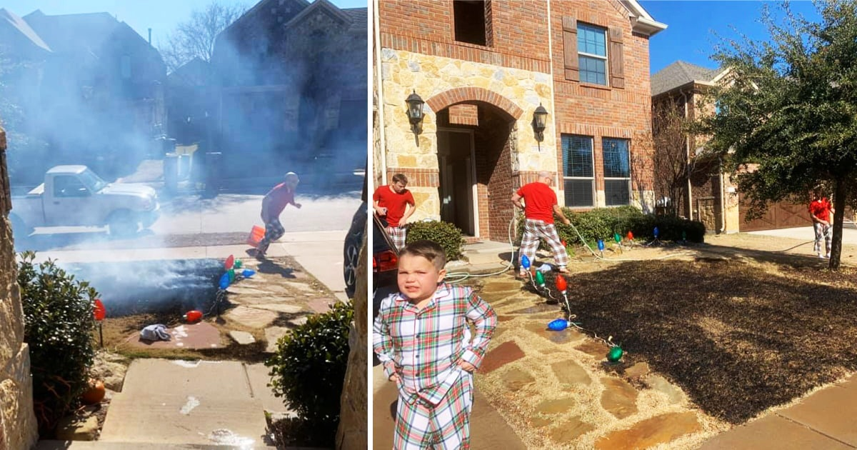 Boy, 12, Set Lawn On Fire After Getting Magnifying Glass For Christmas