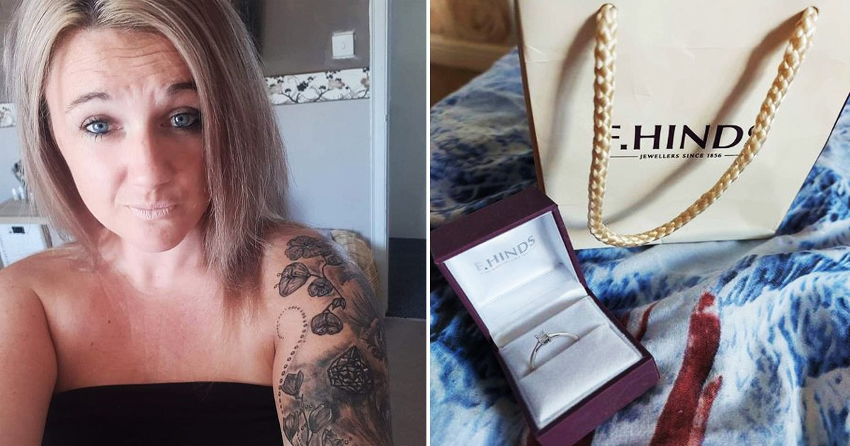 Nurse Sells Her Engagement Ring After 'Repulsive' Fiancé Slept With Another Woman