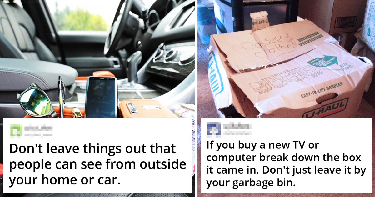 19 Former Burglars Share Secrets To Prevent People Being Robbed