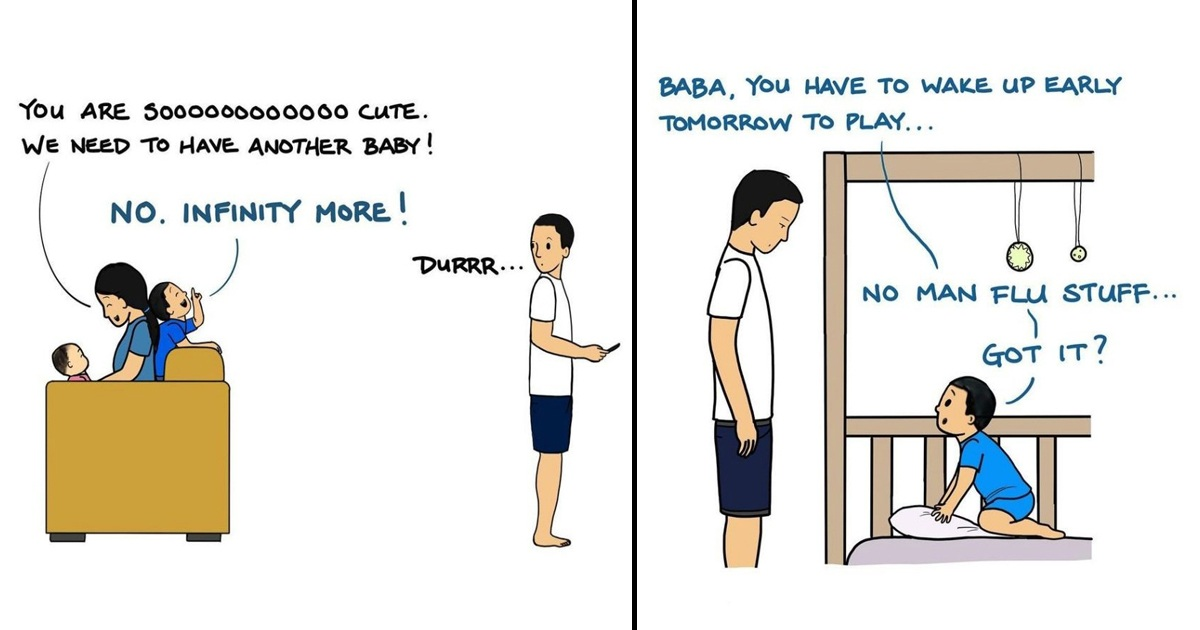 An Introvert Dad Draws 30 Honest Comics About His Family