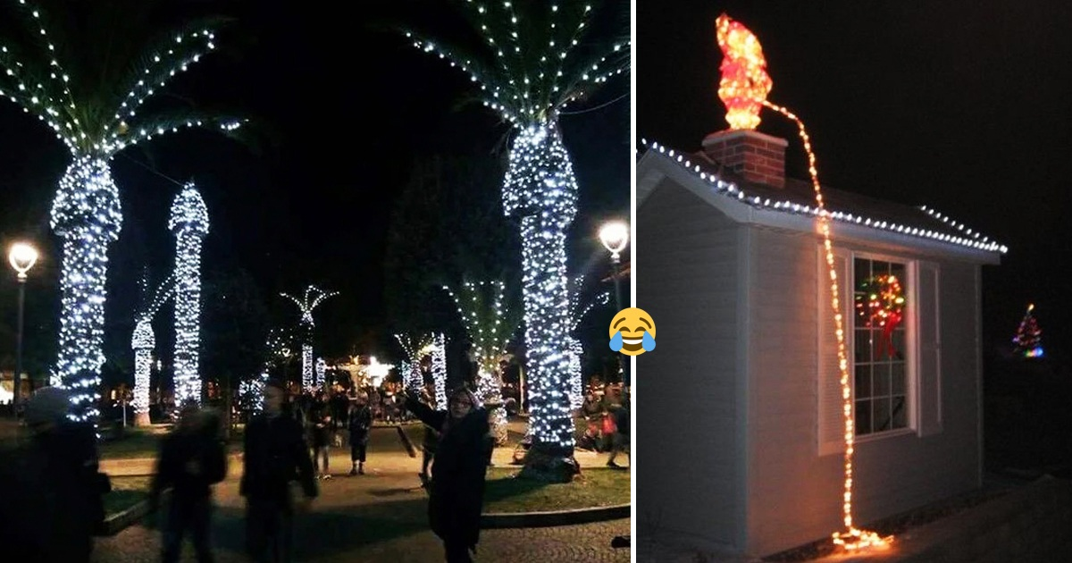 18 Christmas Decor And Product Fails That Send Hilarious Holiday Vibes