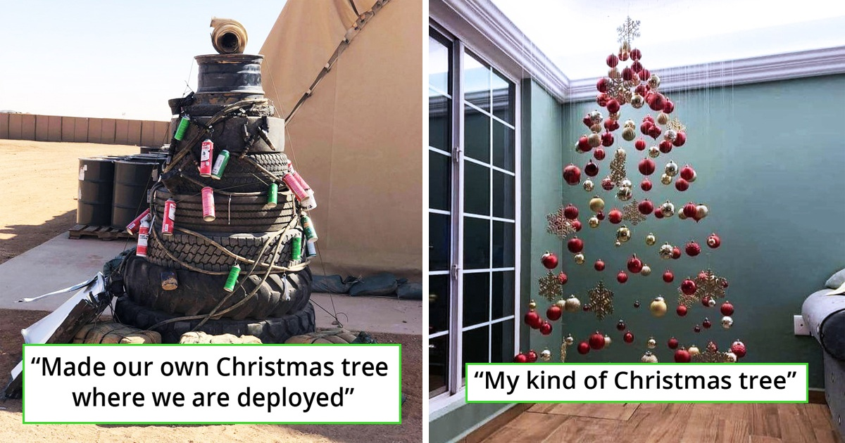 30 Hilariously Creative Christmas Trees People Have Ever Made